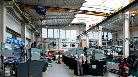 Foto de Abus instala su sistema HB en Pegas Gonda, empresa checa fabricante de sierras para metal