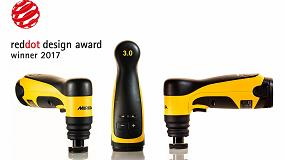 Foto de La lijadora inalámbrica Mirka AOS-B recibe el premio Red Dot Award 2017 y la ya galardonada Mirka Deros incluye ahora sensor de vibraciones