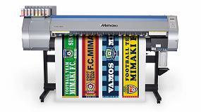 Foto de Mimaki lanza en Fespa la nueva TS30-1300, una impresora de inyección de tinta por sublimación
