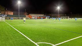 Foto de OMNIstar, la solución de Schréder Socelec para instalaciones deportivas