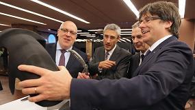 Foto de Carles Puigdemont preside la presentación del Global 3D Printing Hub
