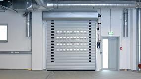 Foto de Las puertas enrollables DD S6 Hörmann ofrecen seguridad y flexibilidad
