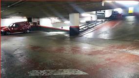Foto de Lotum renueva las rampas del parking del centro comercial Pyrénées