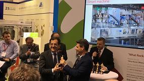 Foto de La línea de envasado de cápsulas GCap recibe el 'Premio a la Mejor Máquina del Futuro' en Interpack