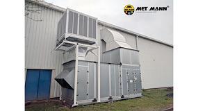Foto de Met Mann presenta una solución de enfriamiento y aportación de humedad con un coste energético ínfimo en climatizadoras y unidades de tratamiento del aire