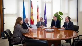 Foto de La UJI y Ascer promoverán el acercamiento entre la industria cerámica y el ámbito de edificación mediante el Aula Cerámica