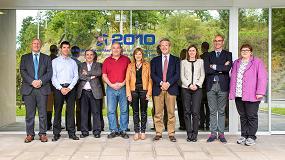 Foto de La consejera de Trabajo y Justicia del Gobierno Vasco visita Izar