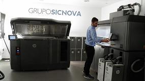 Foto de Grupo Sicnova incorpora la nueva HP Jet Fusion 4200 a sus instalaciones