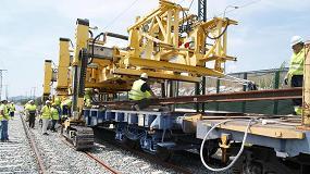 Foto de Adif invertirá 42 M€ en la electrificación del tramo Salamanca-Fuentes de Oñoro