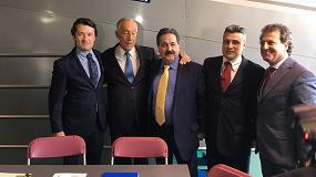 Foto de El presidente de Portugal se interesa por Pieralisi en la feria Olivalpaços