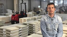Foto de Asti implanta una solución de transporte interno en SAS Prefabricados de Hormigón para la mejora de sus flujos productivos