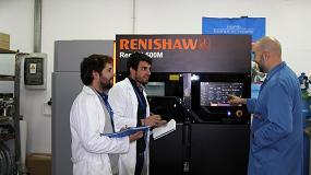 Foto de Renishaw trabaja en la nueva generación de turbinas de alta velocidad para la industria aeroespacial
