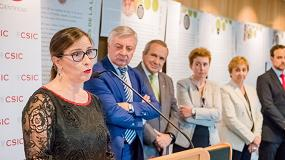 Foto de EL CSIC inaugura su exposición sobre la vid y el vino en el Parlamento Europeo
