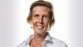 Foto de Nadine Crauwels, nueva presidenta de Sandvik Coromant