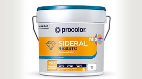 Foto de Procolor lanza Sideral Resisto, la nueva pintura plástica con tecnología antimanchas