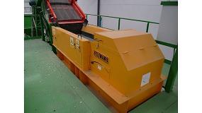 Foto de Equipos Felemamg para la separación de metales en el tratamiento de envases