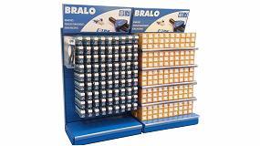 Foto de Bralo muestra en Ferroforma los diseños personalizados de sus expositores lineales
