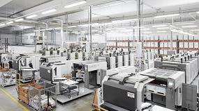 Foto de Pixartprinting posee la mayor instalación de sistemas Komori H-UV/LED H-UV en Europa