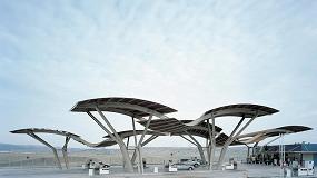 Foto de La estación de servicio de Repsol en San Agustín de Guadalix, Madrid, entre los diez mejores diseños mundiales de gasolineras