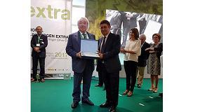 Foto de Gennaro Pieralisi, presidente del Grupo Pieralisi, premiado por Expoliva