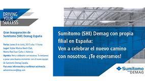Foto de Sumitomo (SHI) Demag Plastic Machinery España inaugura sus instalaciones en junio