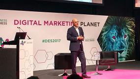 """Foto de Robert Hoffman, CEO de 1&1 Internet en DES2017: """"Es la oportunidad de digitalizar el sector de las pymes"""""""