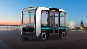 Foto de Olli, el primer vehículo autónomo impreso en 3D con IoT