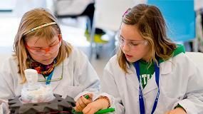 Foto de BASF participa por primera vez en el Festival Barcelona Ciencia con su programa de experimentos Kids' Lab