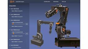 Foto de Robolink de Igus: robots industriales totalmente configurables