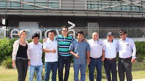Foto de Tecnova acoge y asesora en sus instalaciones a una delegación de empresarios peruanos