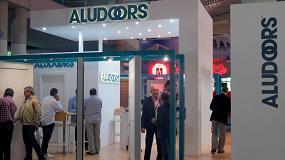 Picture of Aludoors muestra sus puertas de aluminio en Construmat