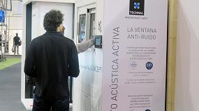 Foto de La ventana Anti-Ruido de Technal, producto innovador de BBConstrumat