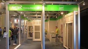 Picture of Netec presenta en Construmat su tejido casi invisible para mosquitera