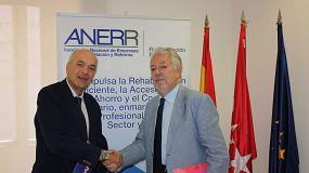Foto de El Colegio de Aparejadores y Arquitectos Técnicos de Madrid y Anerr firman un convenio de colaboración