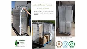 Foto de Agrotextil Tejidos Técnicos: nuevo método de embalaje reutilizable para carros de transporte de mercancías
