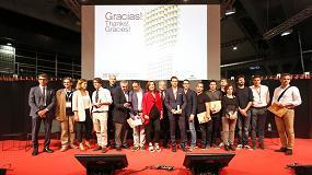 Foto de Premios BBConstrumat 2017 para la Xarxa Espavilada de Olot y el centro cívico de Les Corts