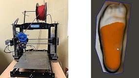 Foto de La Clínica Podológica de la Universidad de Extremadura ofrecerá plantillas impresas en 3D