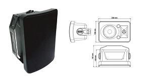 Picture of Optimus lanza la caja acústica de intemperie WCM-20BT