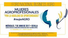 Picture of Llega el I Foro Nacional Business Agro: 'Mujeres Agroprofesionales'