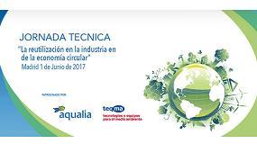 Fotografia de Tecnologías, normativa y casos de éxito en el sector industrial, presentes en la Jornada Aedyr sobre reutilización de agua en la industria