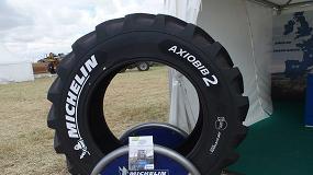 Fotografia de Presentación mundial en Demoagro del nuevo neumático Axiobib2 de Michelin