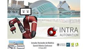 Foto de Intra Automation participa en las Jornadas Nacionales de Robótica