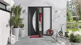 Foto de Puerta de entrada Thermo46 de Hörmann, aislamiento térmico, ahorro energético y seguridad