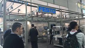 """Foto de Festo muestra sus soluciones """"revolucionarias"""" para el sector del packaging"""