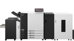 Foto de Riso Ibérica muestra su nueva serie de impresoras ComColor GD