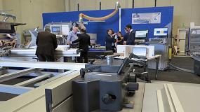Foto de Las Felder Tek atraen a potenciales clientes para ver in situ las innovaciones de la compañía