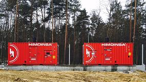 Foto de Energía de emergencia en una de las empresas líderes en la industria de carne procesada en Polonia
