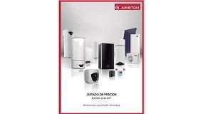 Foto de Ariston publica su nueva Lista de Precios con importantes novedades y lanzamientos