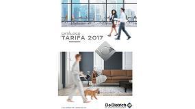 Foto de De Dietrich presenta su nuevo Catálogo Tarifa 2017