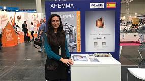 Foto de Afemma, presente en el éxito de Ligna 2017